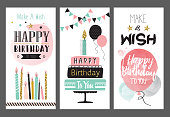 Birthday greeting cards for birthday party