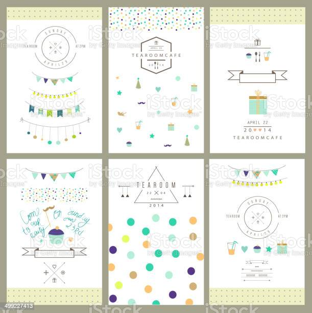 Set of birthday party invitations vector isolated vector id499227413?b=1&k=6&m=499227413&s=612x612&h=k43varxsysyhey53v8pwvdet1fje 6xn7eukuwhgq 8=
