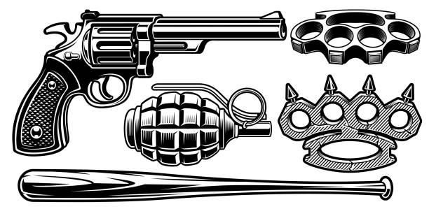 991 Arsenal Illustrations Royalty Free Vector Graphics Clip Art