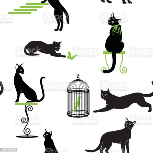 Set of black cats with green eyes and accessories in different poses vector id830459376?b=1&k=6&m=830459376&s=612x612&h=z6fcpllahro1apdh07wvmdqhjrygw3xpsmufottf0ie=
