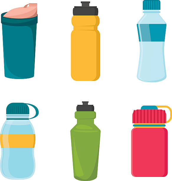 Water Bottles Illustrations, Royalty-Free Vector Graphics ...
