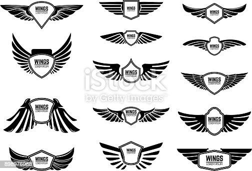 wing Free logo templates