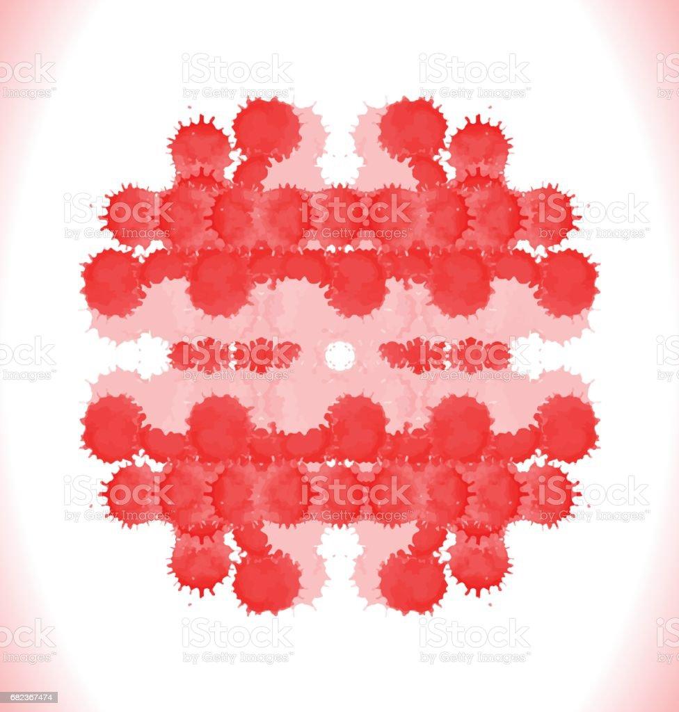 Set of blood drops, splatter royaltyfri set of blood drops splatter-vektorgrafik och fler bilder på abstrakt