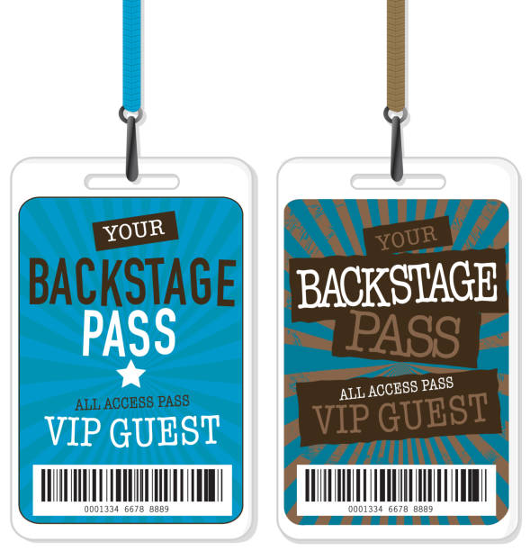 royalty free backstage pass clip art vector images illustrations
