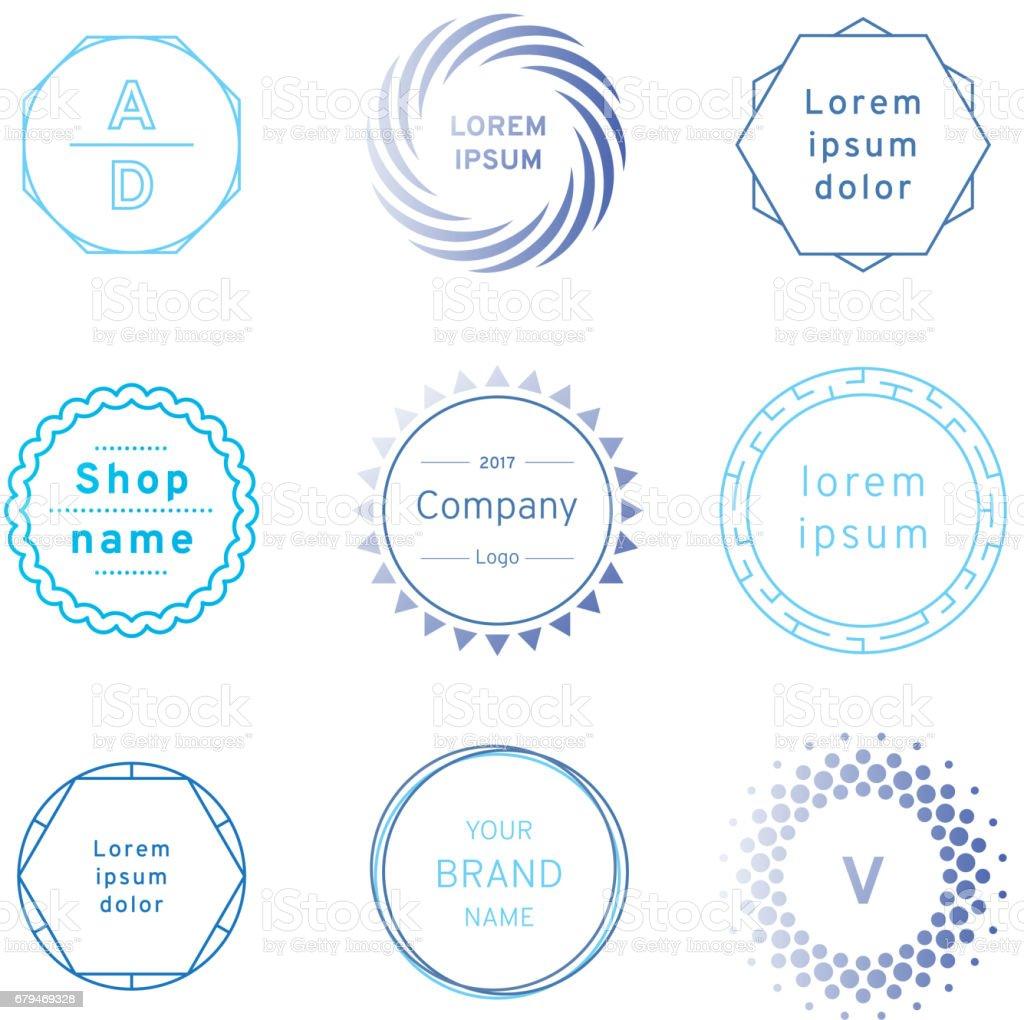 藍色徽章和標籤標誌圖形集。設計項目、 企業標誌、 標籤、 標識 免版稅 藍色徽章和標籤標誌圖形集設計項目 企業標誌 標籤 標識 向量插圖及更多 剪裁圖 圖片