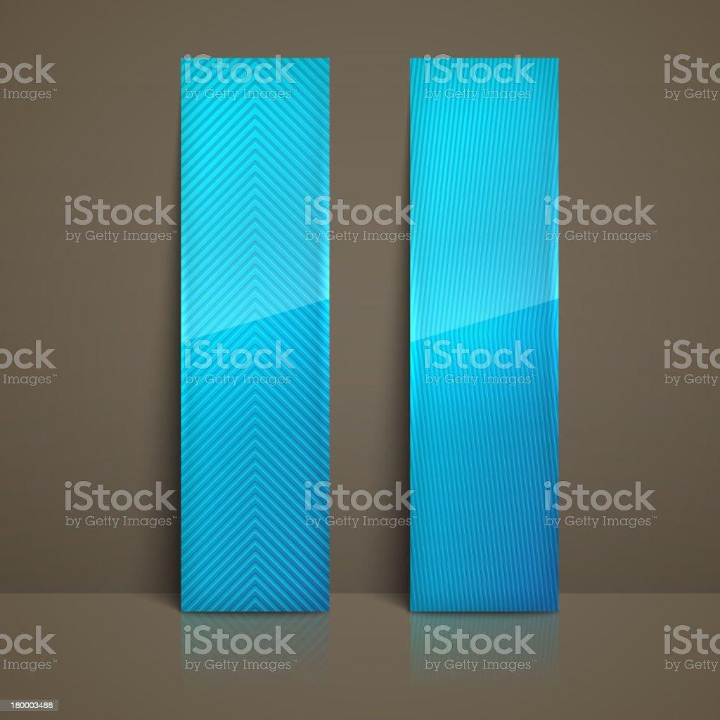 세트마다 블루 스트라이프드 배너 royalty-free 세트마다 블루 스트라이프드 배너 0명에 대한 스톡 벡터 아트 및 기타 이미지