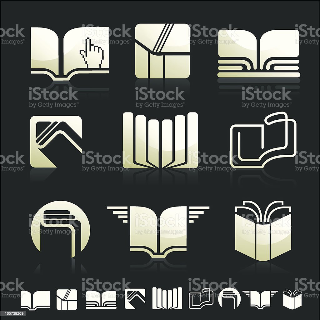 Set of books royalty-free set of books stock vector art & more images of arrangement