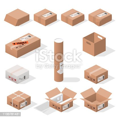isometric boxes