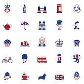 Set of British Icons