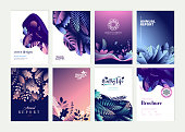 Vector illustrations for business presentation, and marketing.