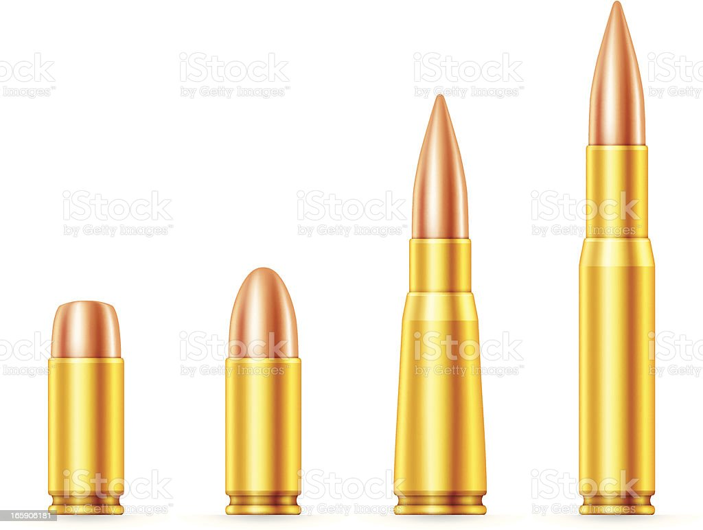 Set of Bullets royalty-free stock vector art