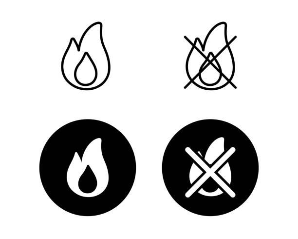 可刻錄和不可刻錄的垃圾圖示集。 - dumpster fire 幅插畫檔、美工圖案、卡通及圖標