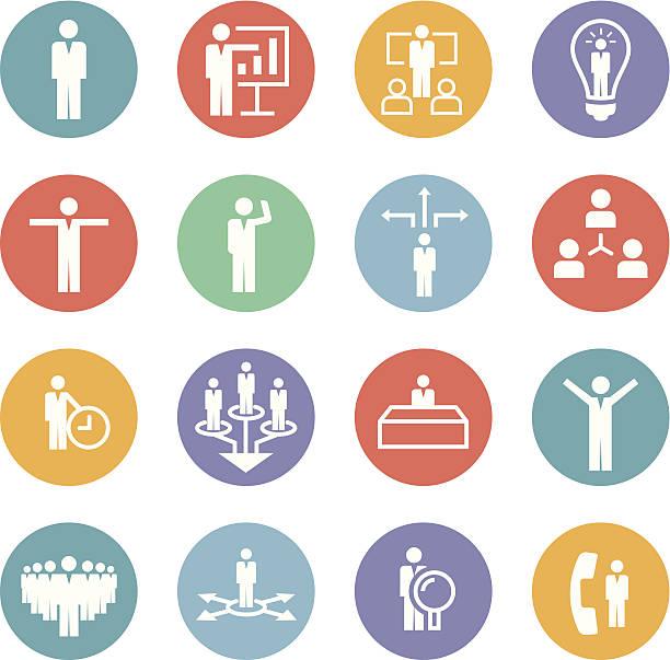 ビジネスのアイコンを設定します。 - トレーニングのカレンダー点のイラスト素材/クリップアート素材/マンガ素材/アイコン素材
