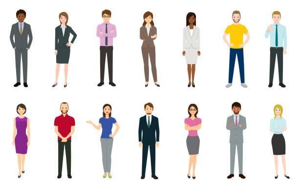 ilustrações, clipart, desenhos animados e ícones de jogo dos executivos - business man