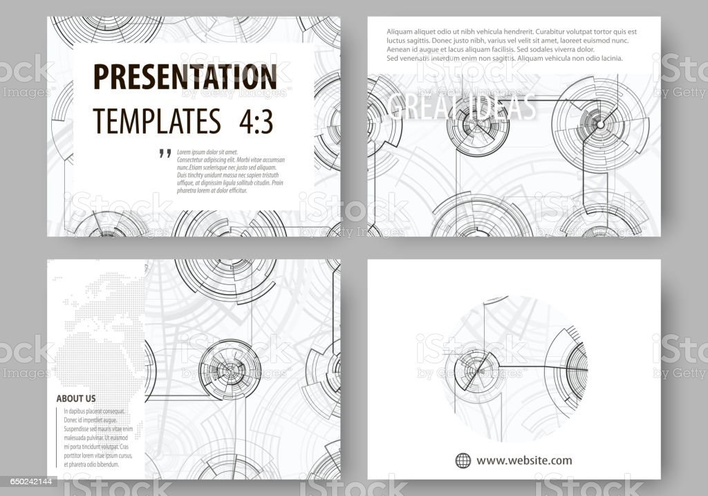 set of business templates for presentation slides easy editable, Presentation templates