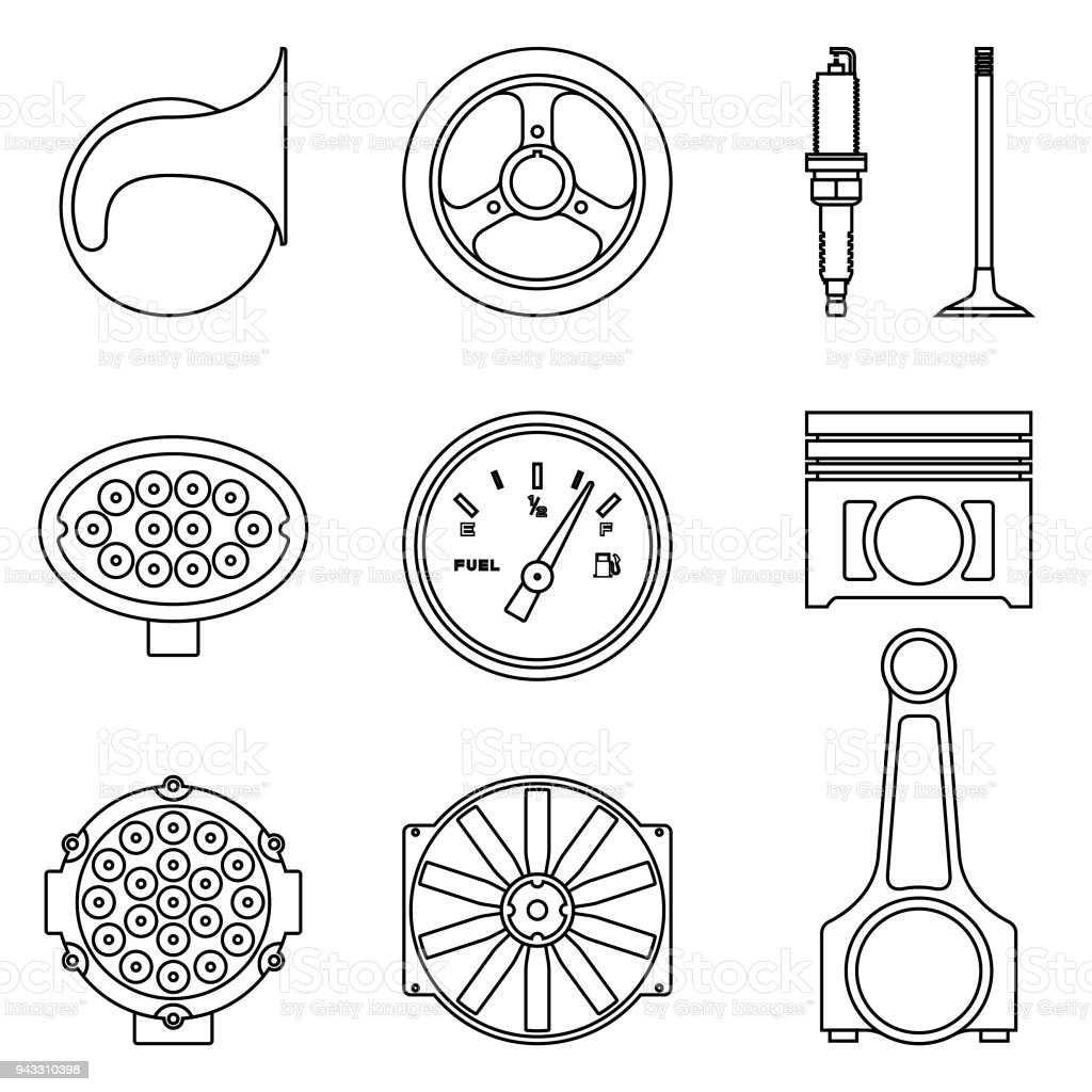 Amazing Car Machine Parts Crest - Diagram Wiring Ideas - ompib.info