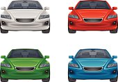 Set of car