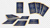 Set of cards, tarot