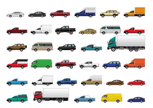 set of cars 01