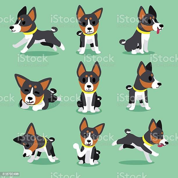 Set of cartoon character basenji dog poses vector id518702498?b=1&k=6&m=518702498&s=612x612&h=vixmarzdpt8va3v4nvcm13f4sg6i2fspkatnddogryw=