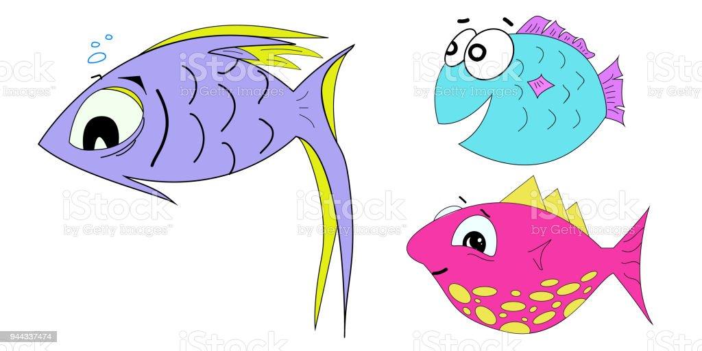 Dibujos Animados Animales Lindo Mar Fondo De Pantalla De: Dibujo Fondos Y Ilustraciones T