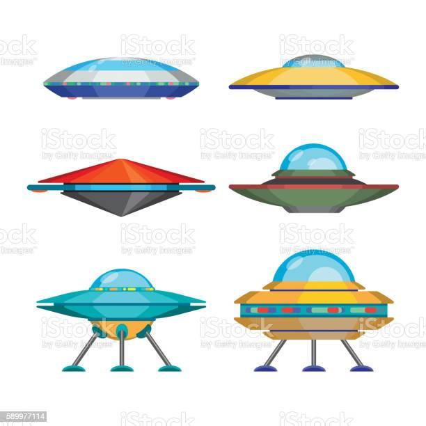 Set of cartoon funny aliens spaceships vector illustration vector id589977114?b=1&k=6&m=589977114&s=612x612&h=aruer 6dqzqkg6hntjauziavlvyrmdn7kbk xlclof0=