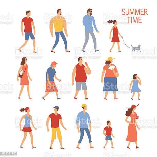 Set of cartoon people in summer clothes vector id628391740?b=1&k=6&m=628391740&s=612x612&h=ebjgaysywcws9qvaoreipehzbm0mnbwk33dldqfeok0=