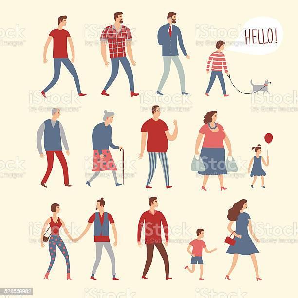 Set of cartoon people in various lifestyles and ages vector id528556982?b=1&k=6&m=528556982&s=612x612&h=aic8dejnd4erfsy4e1anmdv2qqlnn szjf9uqygfgoi=