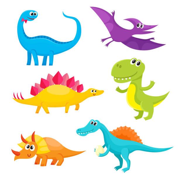 恐竜 イラスト素材 Istock