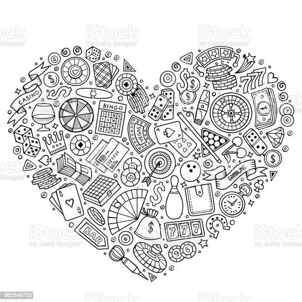 Set of casino cartoon doodle objects vector id952349720?b=1&k=6&m=952349720&s=612x612&h=asfof8zm8rzbmzn w8ijgslnmy2f8yd4rvuaaktrmrs=