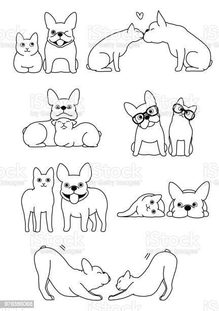 Set of cat and dog pairs vector id976386068?b=1&k=6&m=976386068&s=612x612&h=3yyvj2cwttymrfcyj6zr68ixzwvddypnzgyn6wgupje=