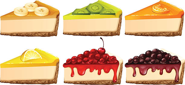 Best Cheesecake Illustrations, Royalty-Free Vector ...