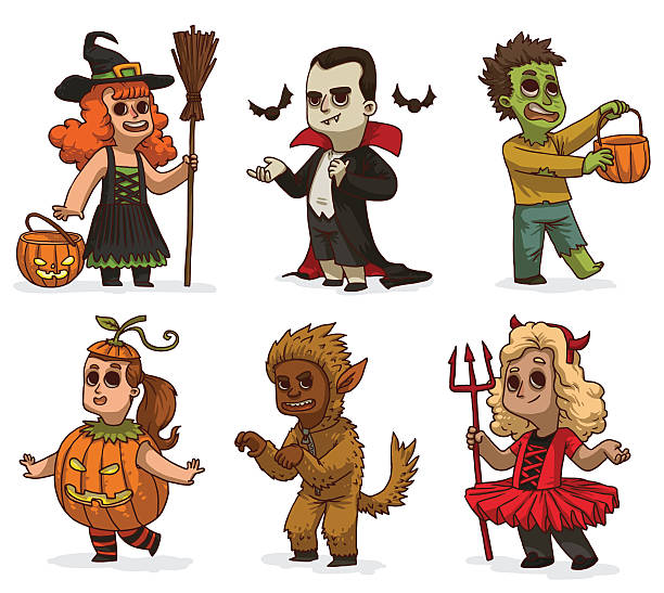 Royalty Free Halloween Costume Clip Art, Vector Images ...