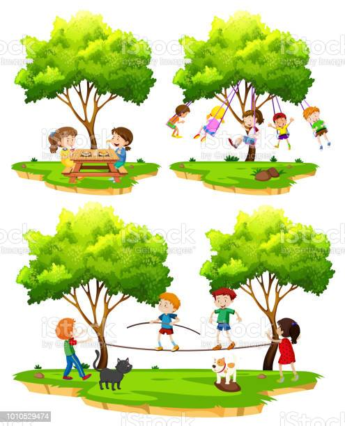 Set of children playing in nature vector id1010529474?b=1&k=6&m=1010529474&s=612x612&h=f2s21tpd5jw6agcanxqibyiw6f7w0upog6c8jyyumky=