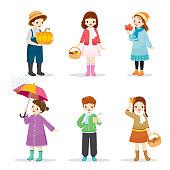 Nature, Season, Weather, Symbol, Kids, Activity