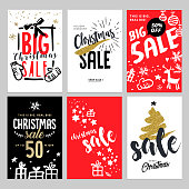 Vector illustrations of online shopping website and mobile website banners, posters, newsletter designs, ads, coupons, social media banners.