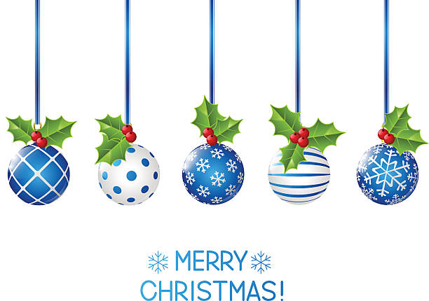 Christmas ornament clip art vector images illustrations for H m christmas decorations