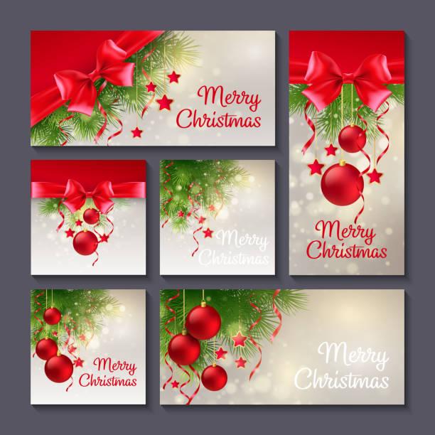 クリスマスのテンプレートの印刷用またはウェブ用設計 - 休日/季節ごとのイベント点のイラスト素材/クリップアート素材/マンガ素材/アイコン素材