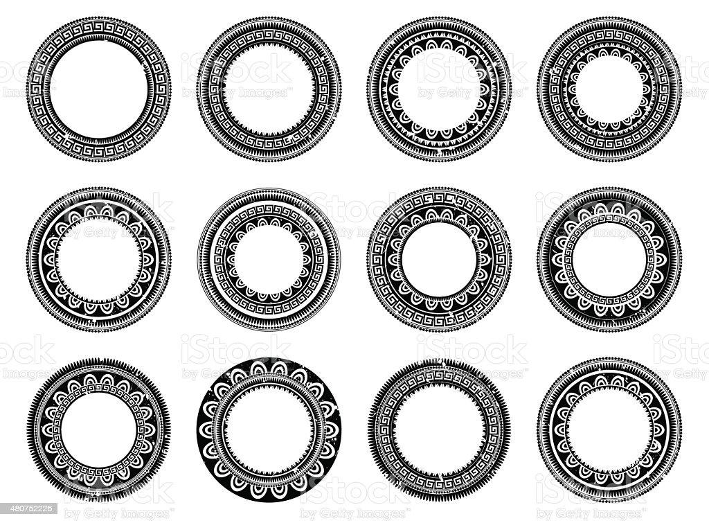 Circle Designs Tattoo