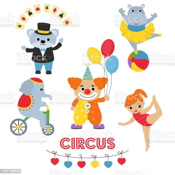 Set of circus animals vector id1051398558?b=1&k=6&m=1051398558&s=612x612&h=qu1fo5lsfot6sqmcmzfxfkhzztwa84tkthtu4mfxia8=