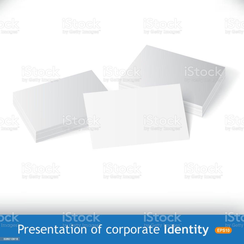 ilustración de conjunto de limpieza de tarjetas de negocios para su