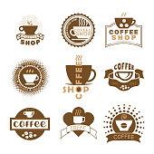 istock Set of coffee icons 1301048227