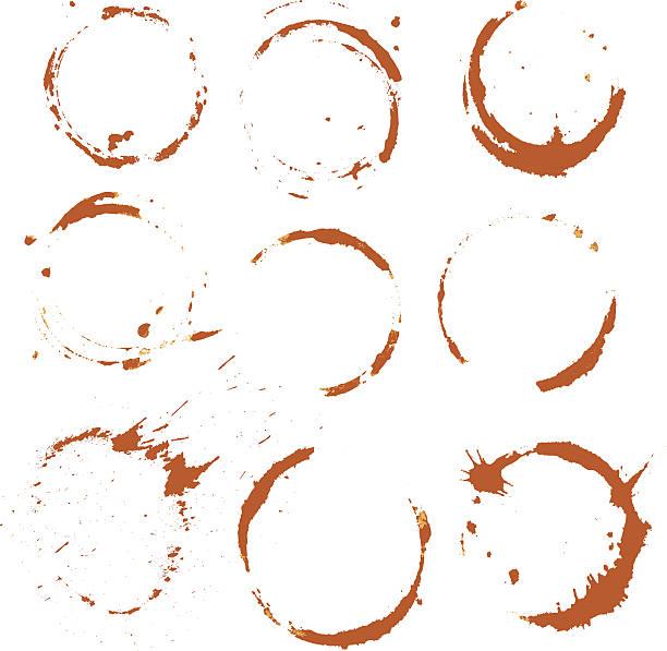 ilustrações de stock, clip art, desenhos animados e ícones de conjunto de coloração de café, isolado no fundo branco. - lian empty