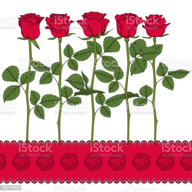 Set of color illustrations with red roses isolated vector objects vector id963433606?b=1&k=6&m=963433606&s=612x612&h=cl5hpumnohx7kfcvhbsk7h faeazpt2s215eq8mf7is=