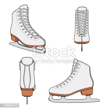 Ice Skating Clipart #79023 - Illustration by Pams Clipart