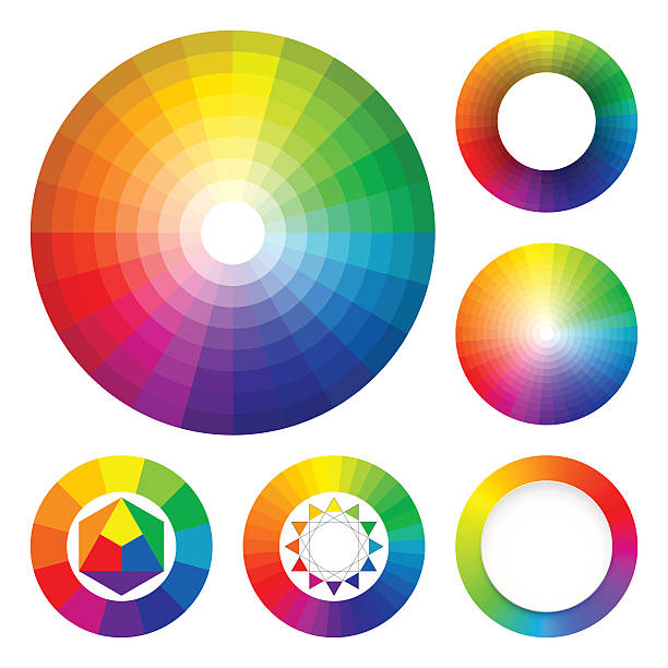 Top 60 Color Wheel Clip Art, Vector Graphics And