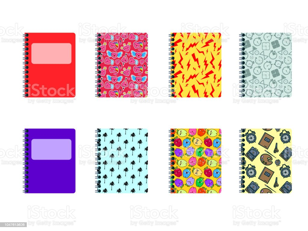 Set Of Colored Covers Modern Decoration Shapes And Figures For Web