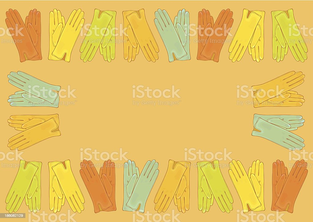 Set of colored gloves royalty-free set of colored gloves stock vector art & more images of art