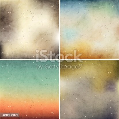 Retro vintage style grunge colorful gradient tips for wallpaper, pattern and other background decoration.