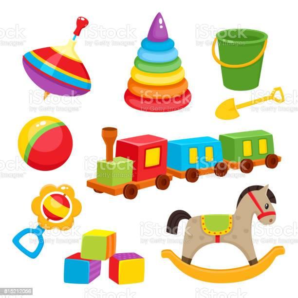 Set of colorful cartoon style baby toys kid items vector id815212056?b=1&k=6&m=815212056&s=612x612&h=fd8a5lu5nyfdjaot32gjm9hg1wlooqkyqfmgylev7uc=
